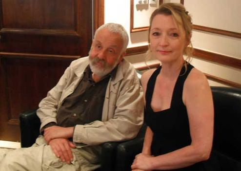 Mike Leigh & Lesley Manville